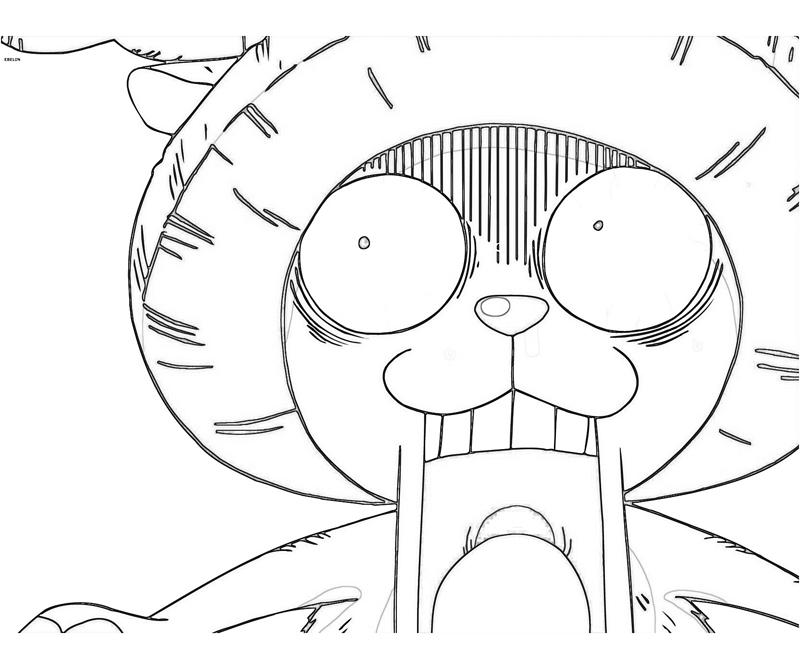 One Piece Coloring Pages http://videotubedownloads.blogspot.com/2012/11/one-piece-tony-tony-chopper-poster.html