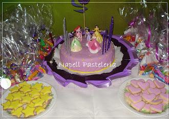 Mesa Princesa y Souvenirs