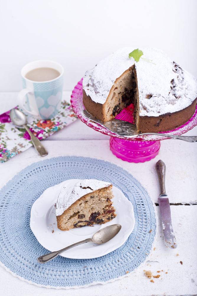 ciasto ucierane z daktylami