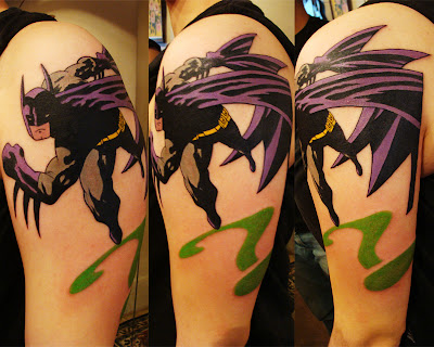 Batman Half Sleeve Tattoos
