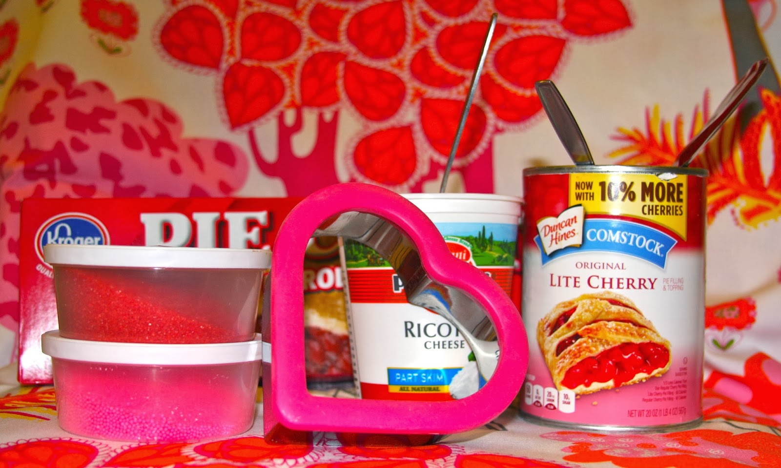 supplies needed for heart pies