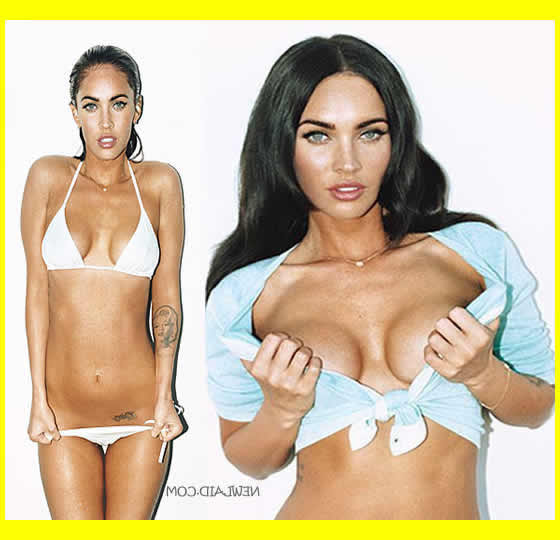 Megan Fox No Clothes