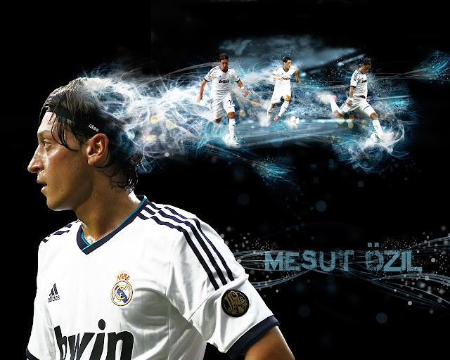 New Said Özil wallpaper HD Real madrid 2013 - 2014