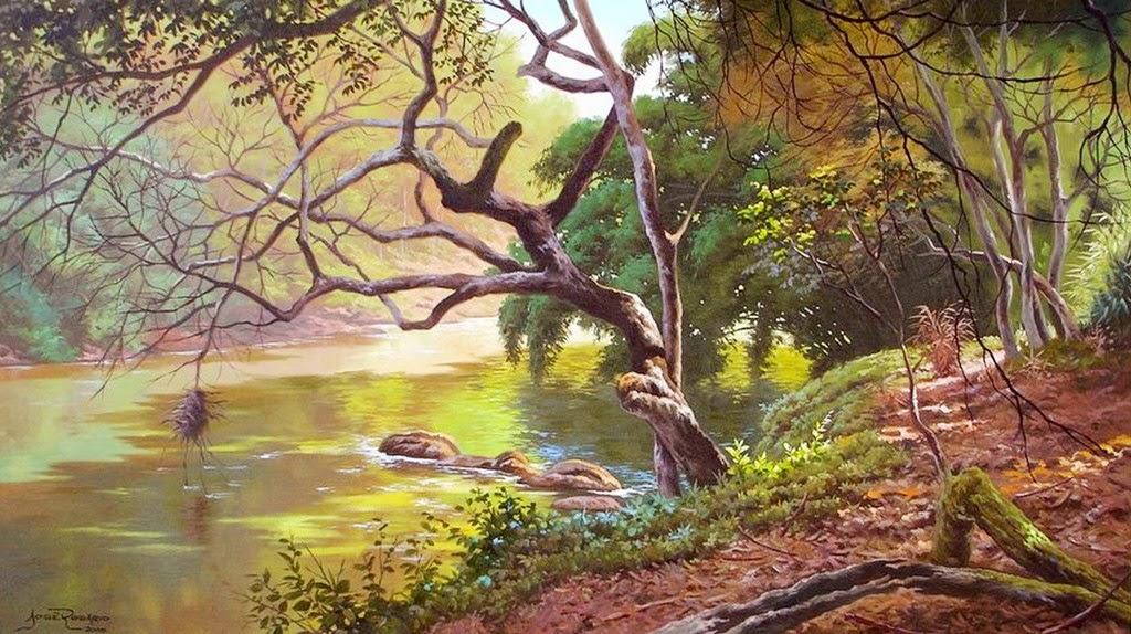 cuadros-de-paisajes-realistas-naturales
