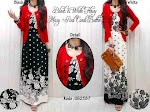 Gamis + Cardi 062587 SOLD OUT