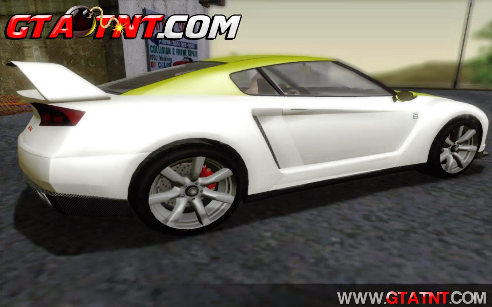 Elegy RH8 Twin-Turbo Convertido do GTA V para GTA San Andreas