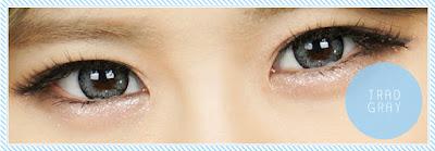 Trad Gray Contact Lenses at ohmylens.com