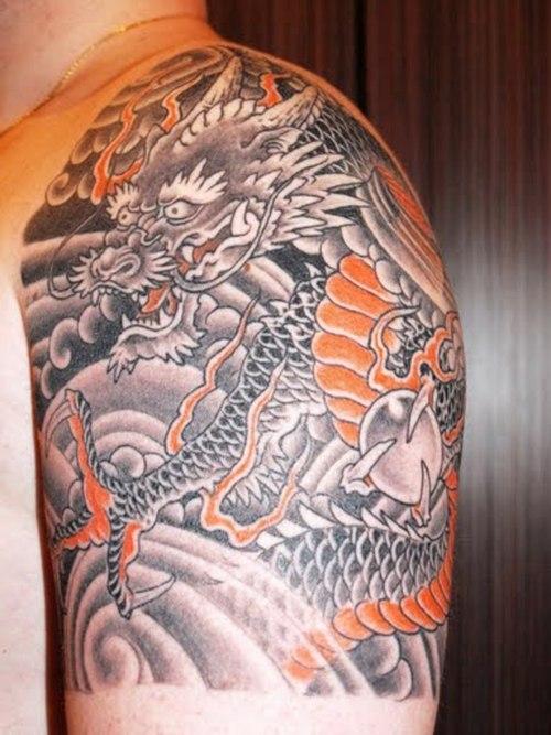 tattoo design quarter sleeve tattoos. Black Bedroom Furniture Sets. Home Design Ideas