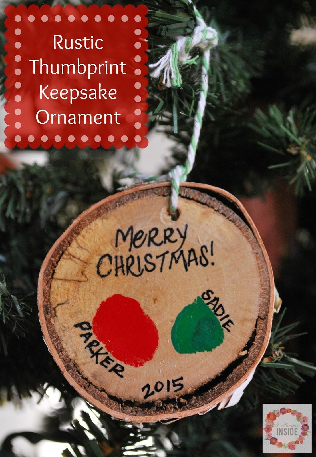 http://www.aglimpseinsideblog.com/2015/11/rustic-thumbprint-keepsake-ornament.html
