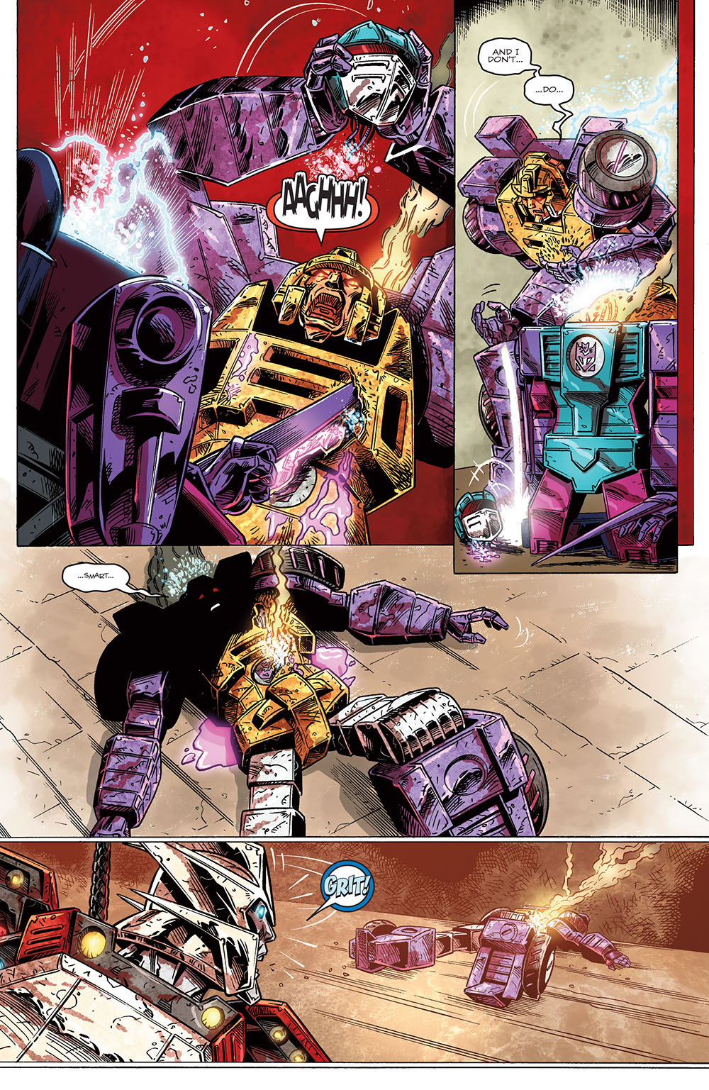 the transformers drift empire of stone 04 2014 reading