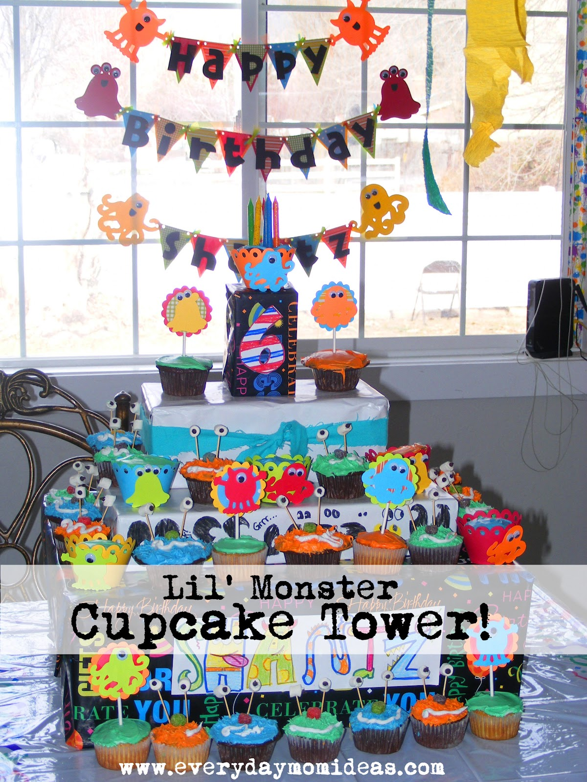 little monster bash -birthday party ideas - everyday mom ideas