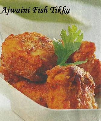 Ajwani Fish Tikka