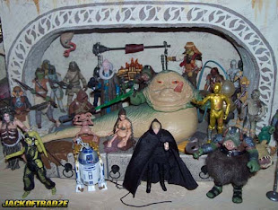 Jabba's Palace Diorama Shelf Display (In Progress)