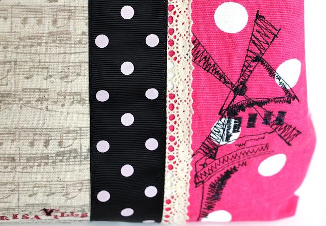 handbag ,mademoiselle, polka dot,Mulen ruz