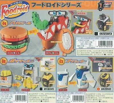 Foodroids Kamen Rider Fourze
