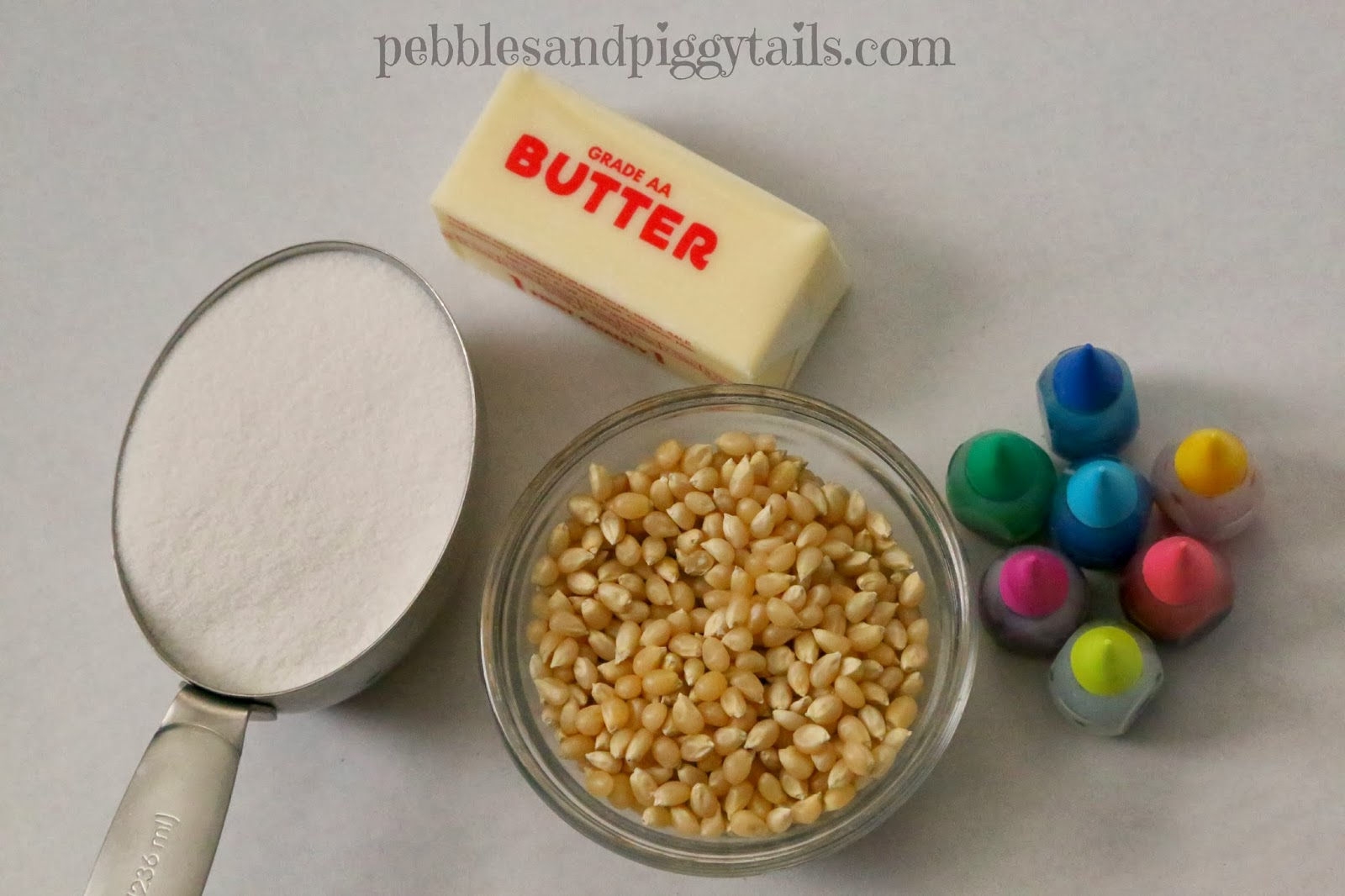 Easy sugar popcorn treat making life blissful my little son calls it painted popcorn forumfinder Image collections