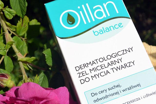 Dermatologiczny żel micelarny do mycia twarzy Oillan balance