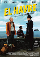 El Havre, de Aki Kaurismäki, con André Wilms, Kati Outinen, Jean-Pierre Darroussin y Blondin Miguel