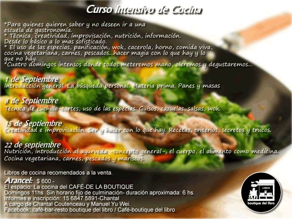 Curso intensivo de cocina comando gutenberg - Escuela de cocina vegetariana ...