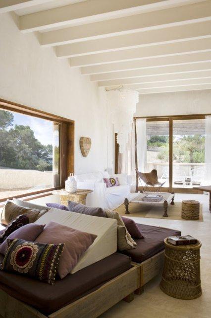 Una casa de estilo boho chic boho chic style house - Soggiorno a formentera ...