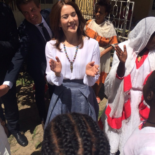 Crown Princess Mary visits Ethiopia - Last Day