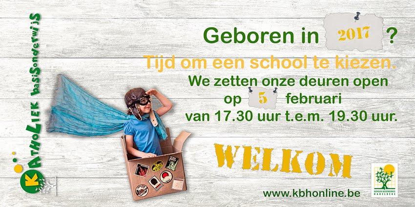 Inschrijven?  Op vrijdag 1 maart zijn alle nieuwe gezinnen van harte welkom!