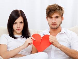 Why Not Restart After A Break Up - man and woman holding heart