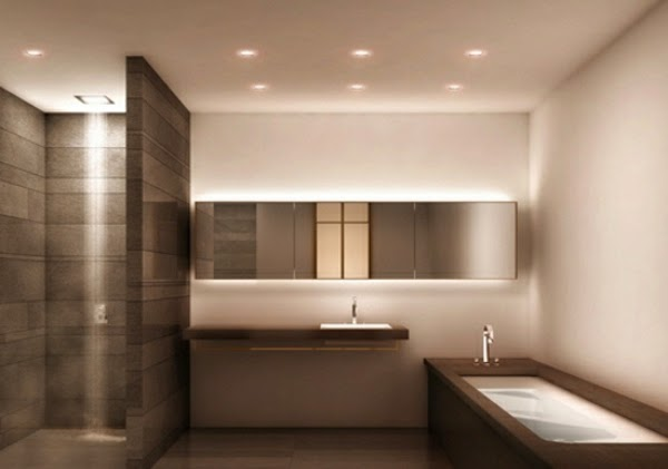 Built In Lights For Ceiling : Modern cheap bathroom lights for ceiling and wall