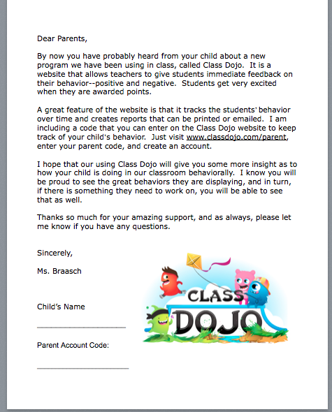 class dojo recently came out with a new messaging feature i can send out individual messages to parents or i can send out a whole class broadcast