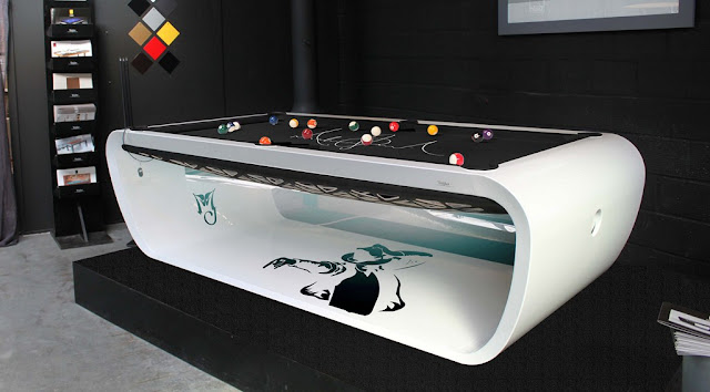 Marvelous Black Light Billiard Tables By Toulet. Tons Of Colors And Many Cool  Options.   If Itu0027s Hip, Itu0027s Here
