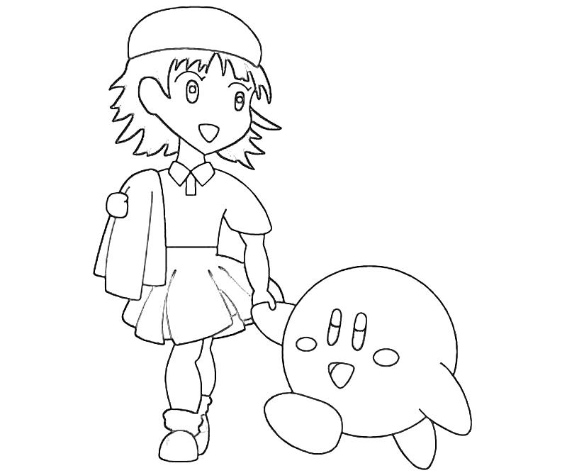 printable-adeleine-and-kirbi-coloring-pages