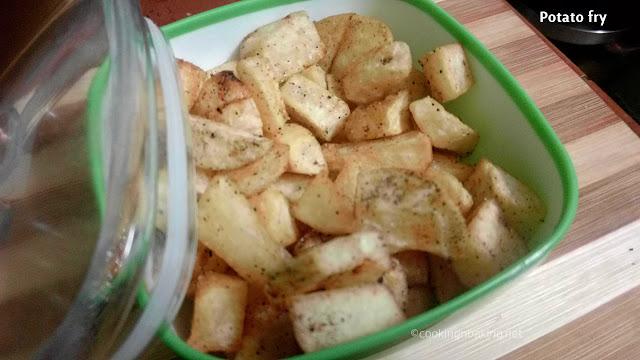 Potato fry (for variety rice)