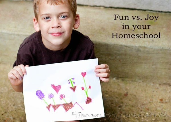 homeschool love of learning fun