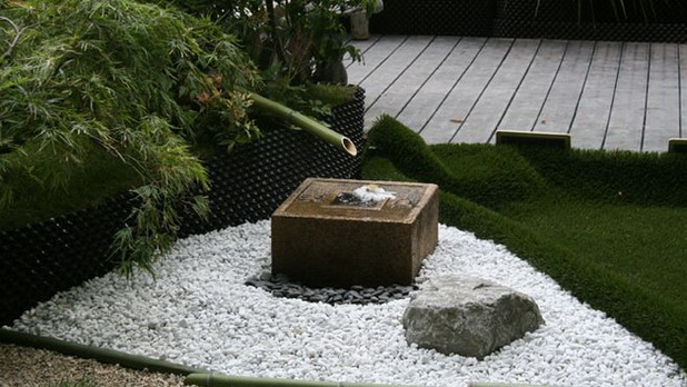 Deco chambre interieur id es cr atives pour cr er une for Fontaine exterieur zen