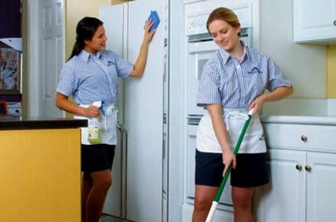 Tổng vệ sinh khối văn phòng