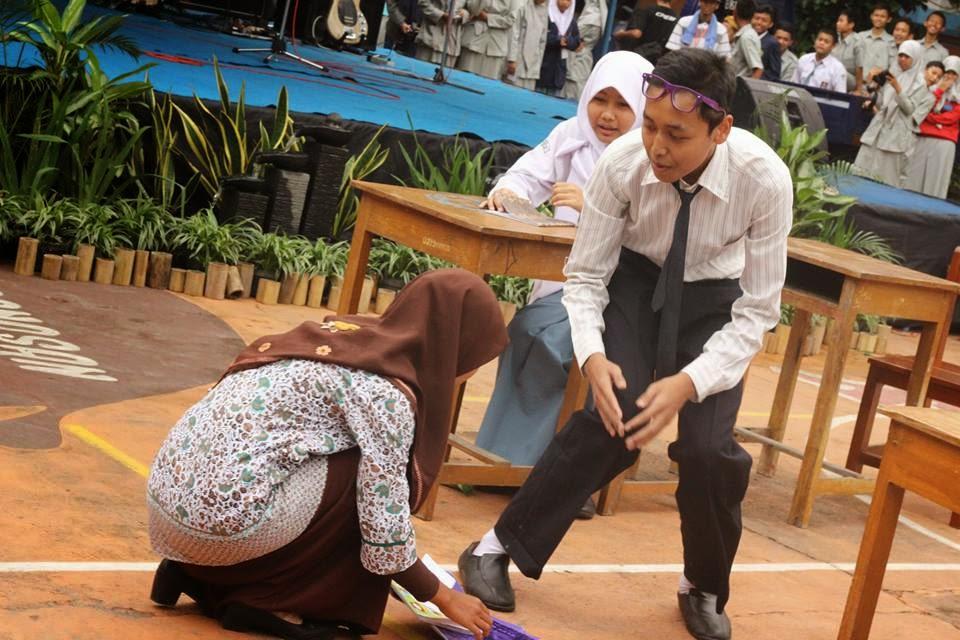 pentas seni SMA Muhammadiyah 1 Muntilan