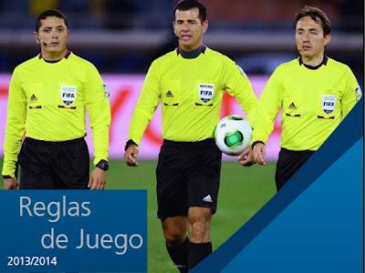 Reglas del juego 2013 FIFA, reglamento del fútbol