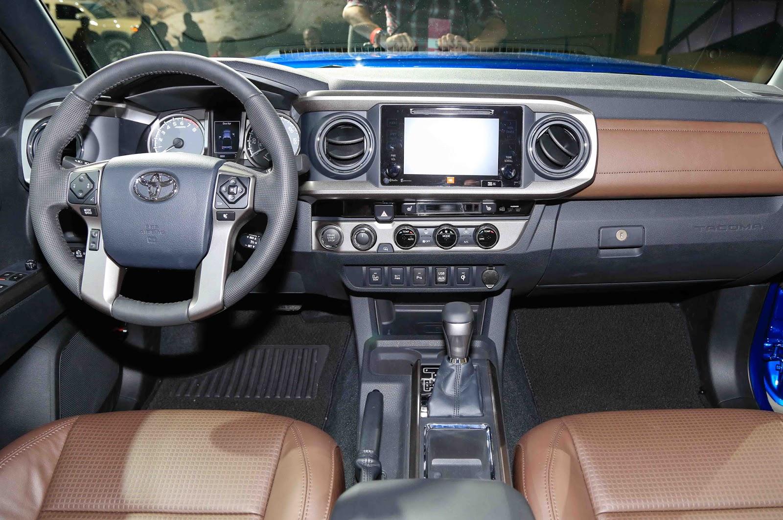 Charming 2016 Toyota Tacoma Interior Nice Look
