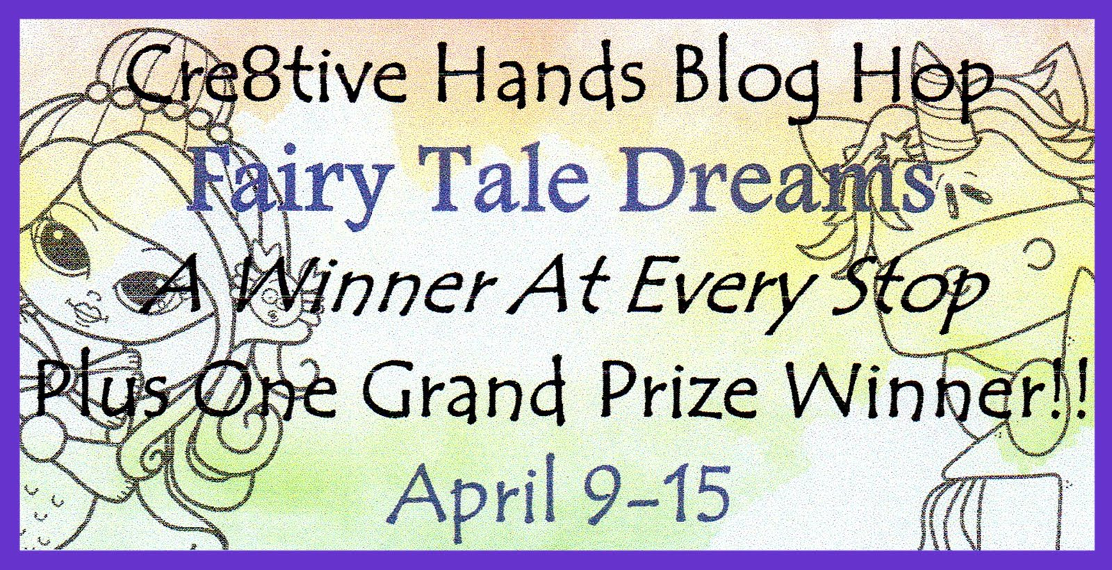 CRE8TIVE HANDS BLOG HOP