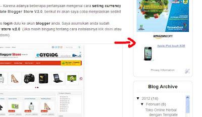 astore widget untuk blogger widget 4