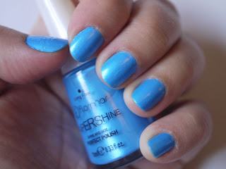 Manicura Flormar Supershine Azul