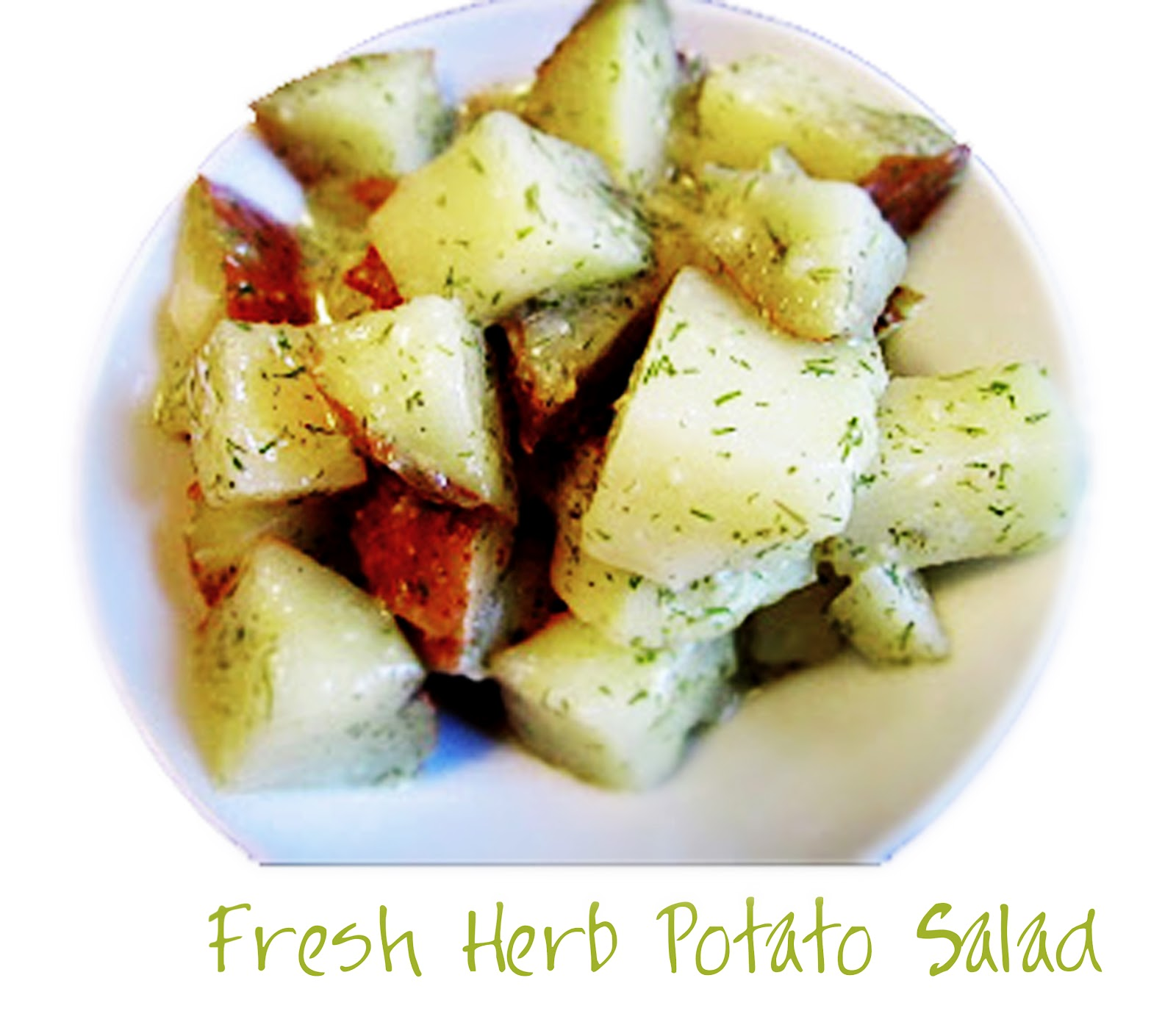 Fresh Herb Potato Salad... | So Freakin' Delicious!