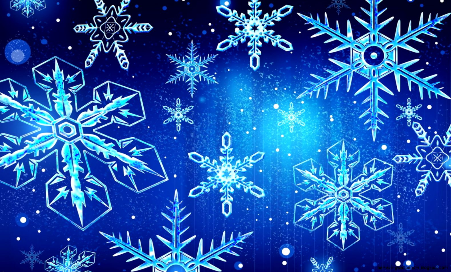 Snowflakes Falling Background   wallpaper