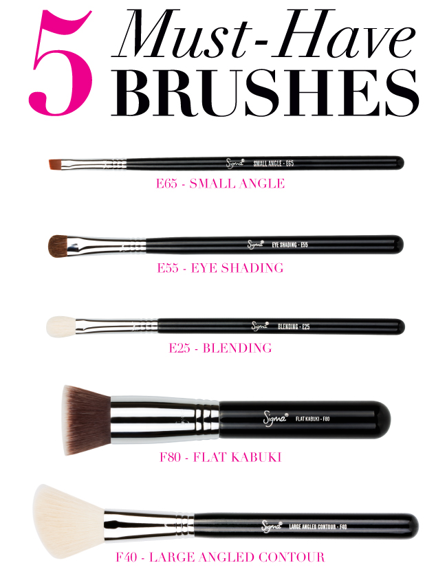 Makeup Ideas must have makeup pics : Must Have Makeup Brushes