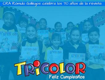 70 años de la revista Tricolor