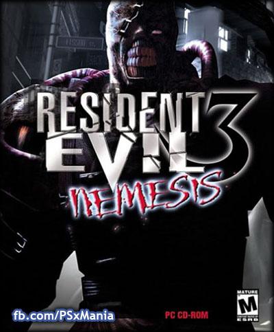 Resident Evil 3 - Nemesis U SLUS-00923 ROM /