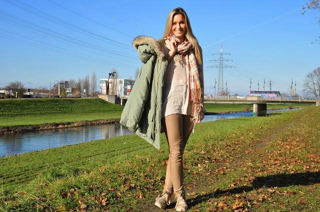 Woolrich Parka, Grün, Outfit, Patrizia Philp