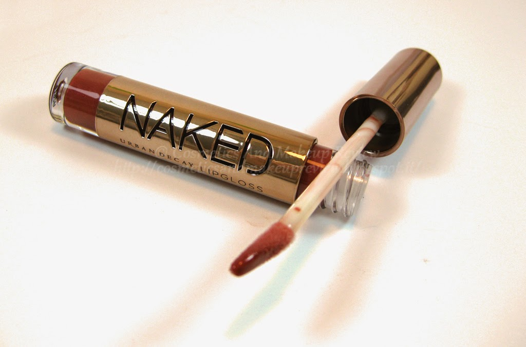 Urban Decay - Naked On The Run Palette - Sesso Naked Lipgloss