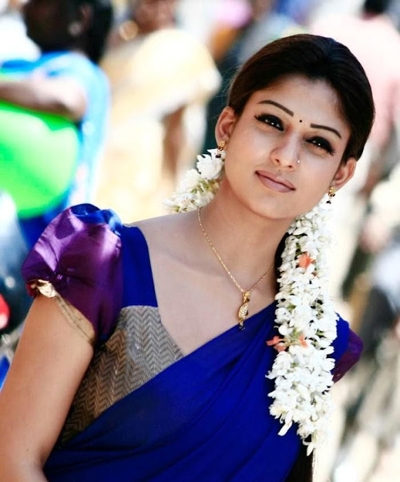nayantara in half saree latest photos