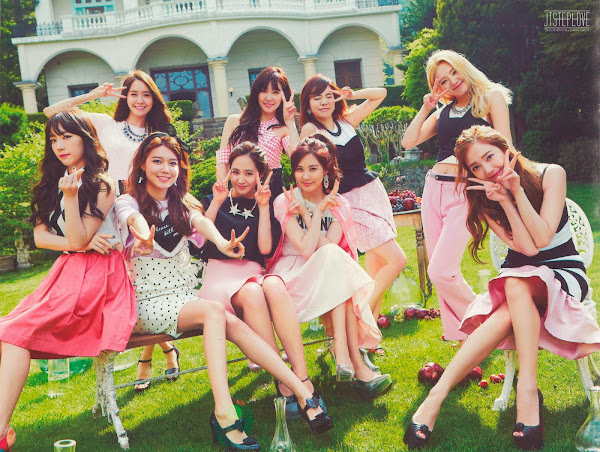 Girls' Generation The Garden Scans